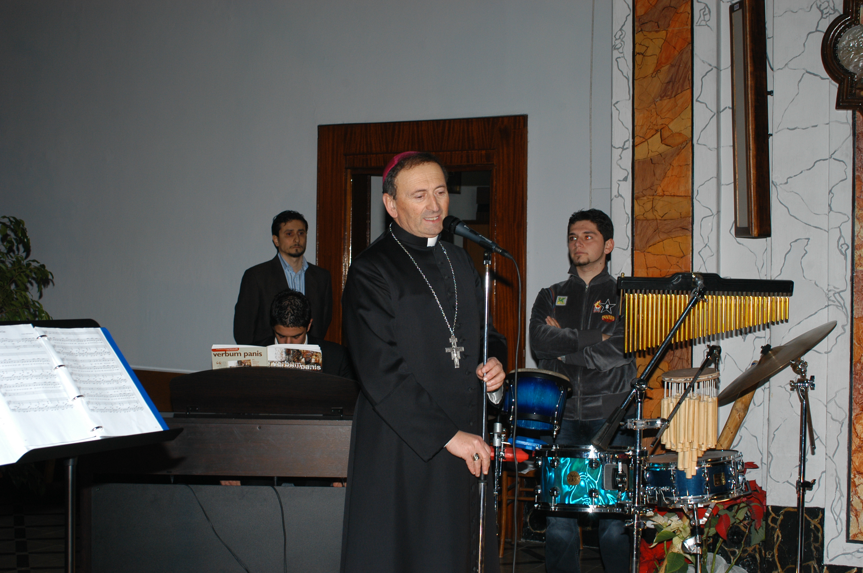 Il saluto finale di Mons. Ccucci, nostro Vescovo.