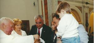 Battesimo amministrato da Don Giuseppe