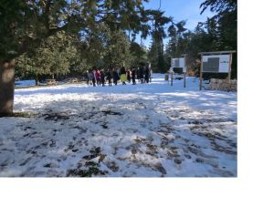 Campo invernale del Reparto Camelot gennaio 2015